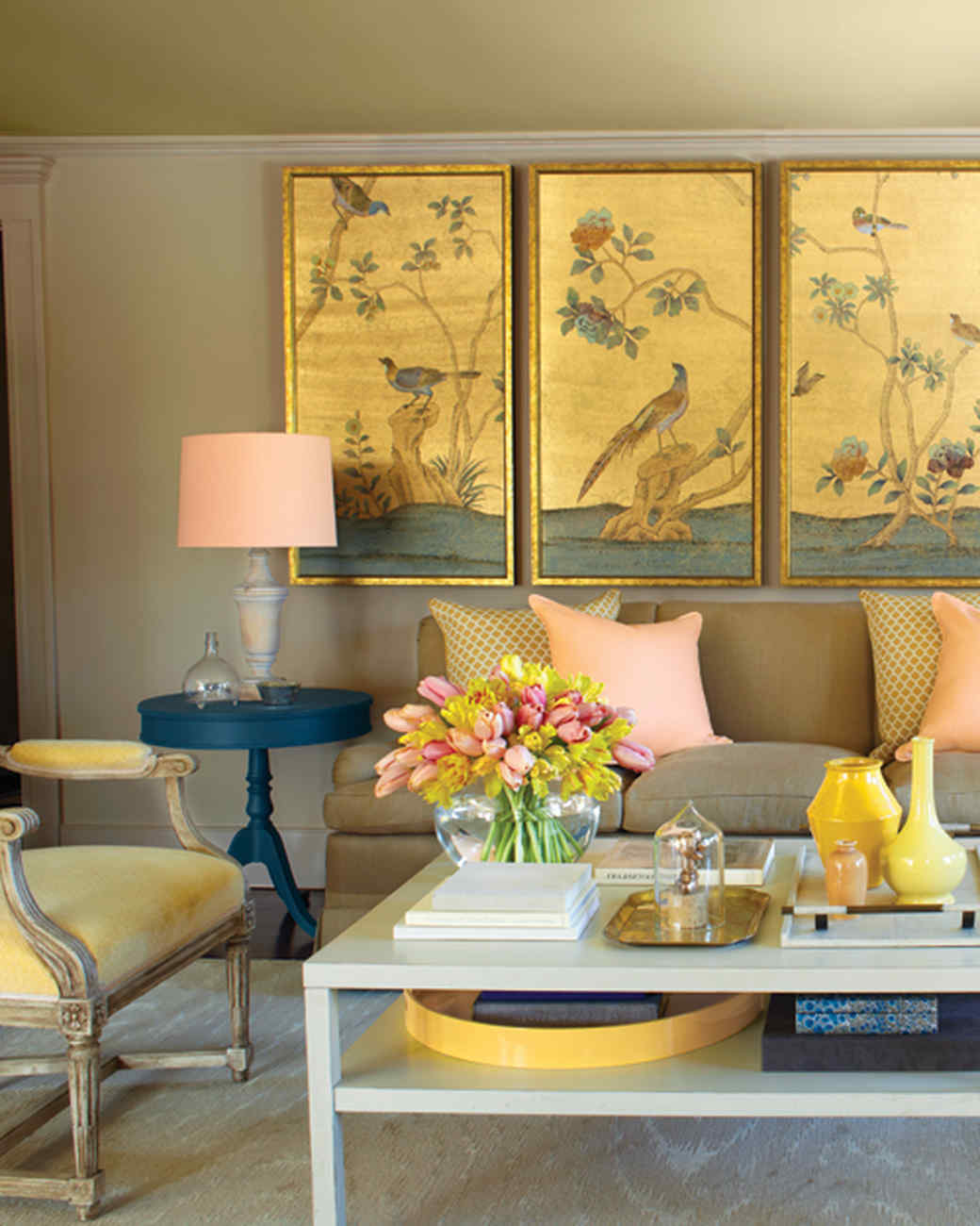 Mustard Color Paint For Kitchen Paint Palettes We Love Martha Stewart