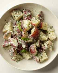 Small Of Greek Potato Salad