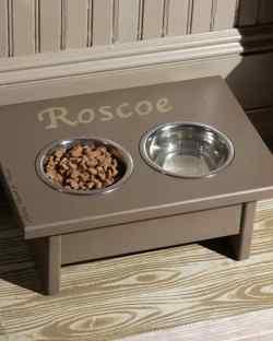 Small Of Dog Feeding Station
