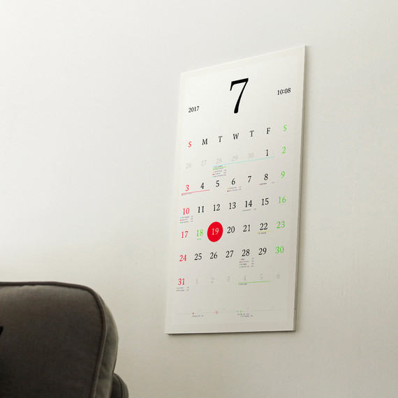 Keep Your Life Straight With This Smart Wall Calendar | Martha Stewart