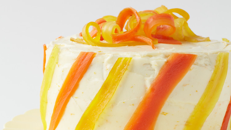 Decoration Themes Carrot-ginger Layer Cake With Orange Cream-cheese Frosting