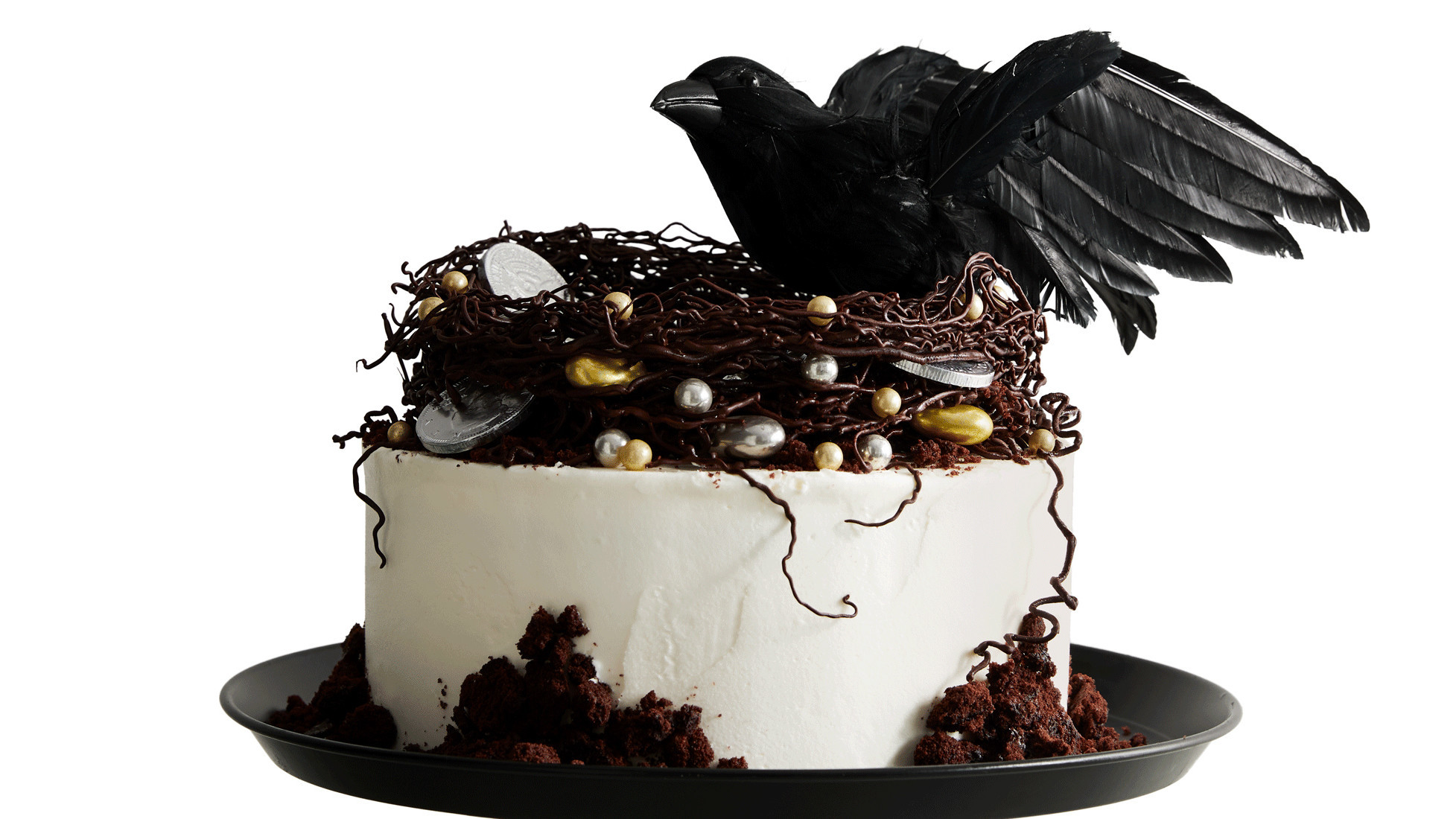 Decorating Styles Raven's-nest Cake