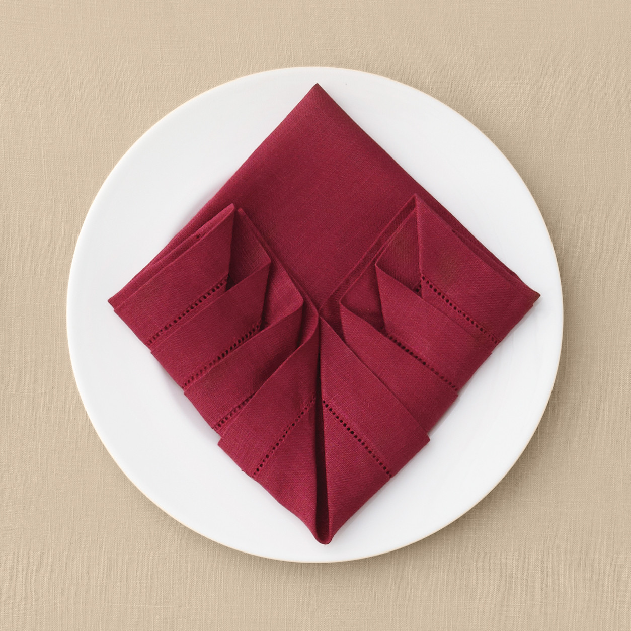 Pleated Napkin Fold Martha Stewart Weddings