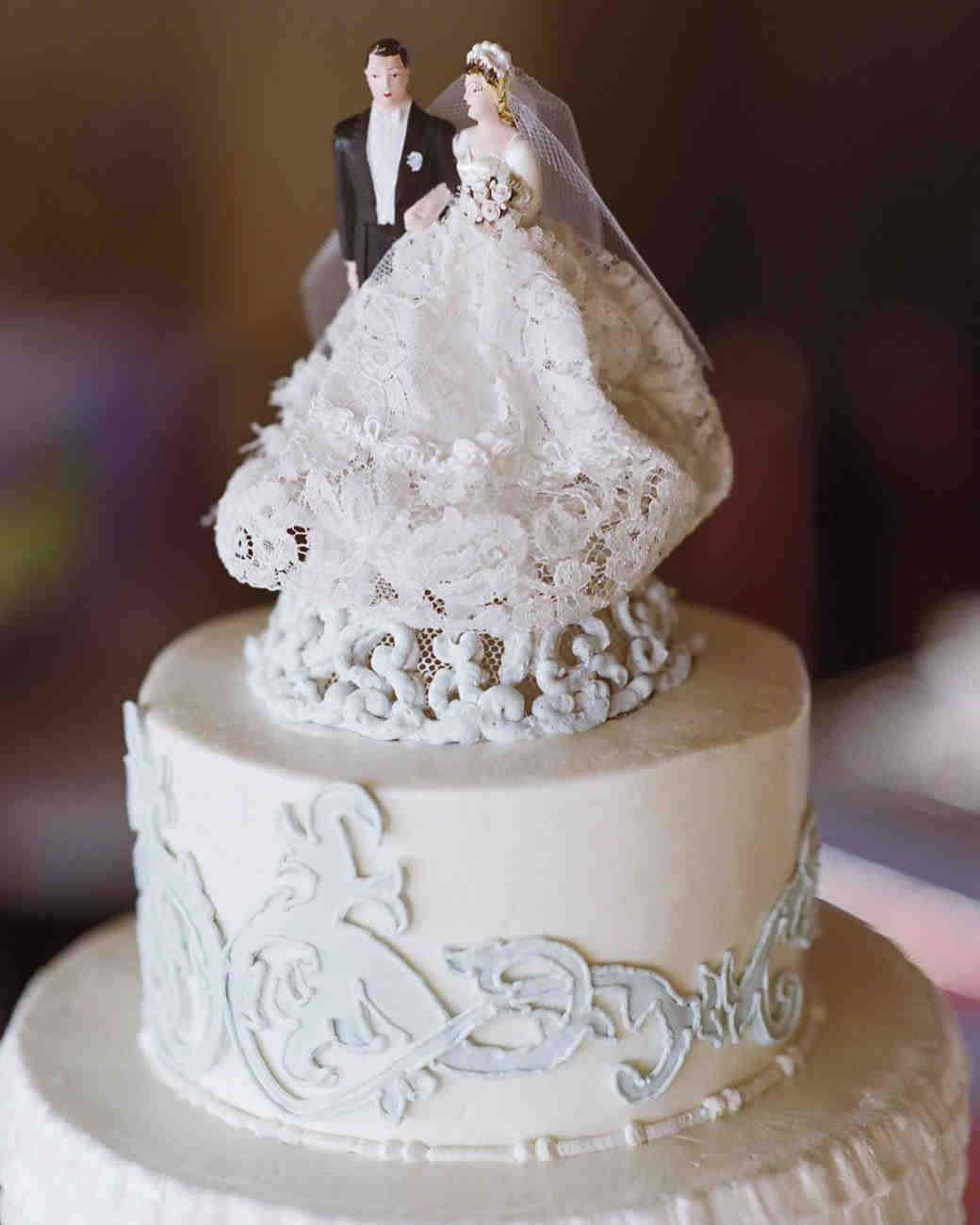 best cake toppers wedding cake topper A Vintage Touch