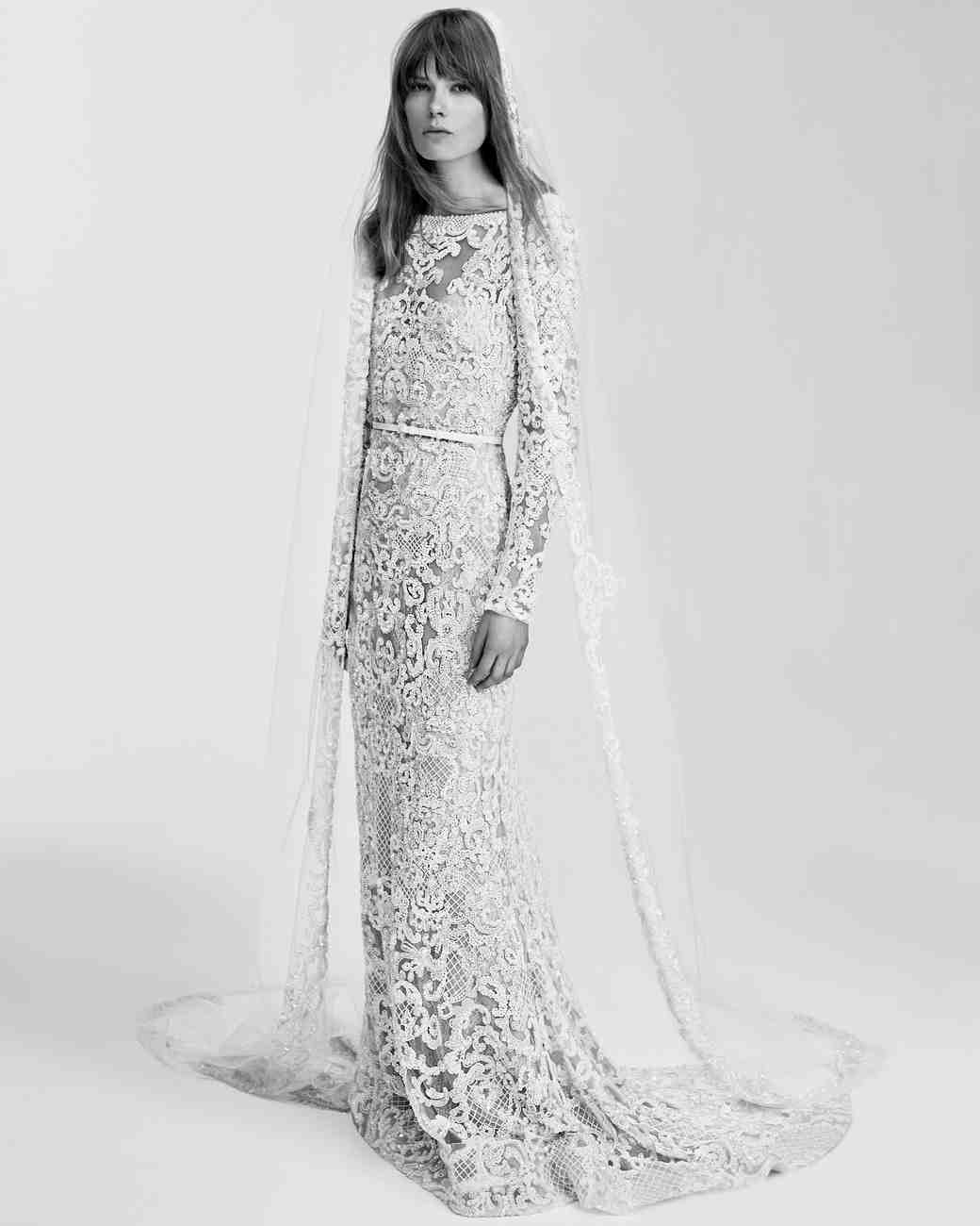 elie saab wedding dresses spring elie saab wedding dress Elie Saab Spring Wedding Dress Collection Martha Stewart Weddings
