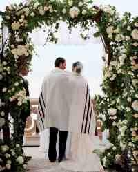 25 Beautiful Chuppah Ideas from Jewish Weddings   Martha ...