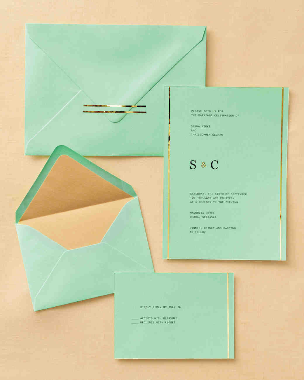 Diy Wedding Invitations With Photo Easy Ways To Upgrade Your Wedding Invitations Martha Stewart