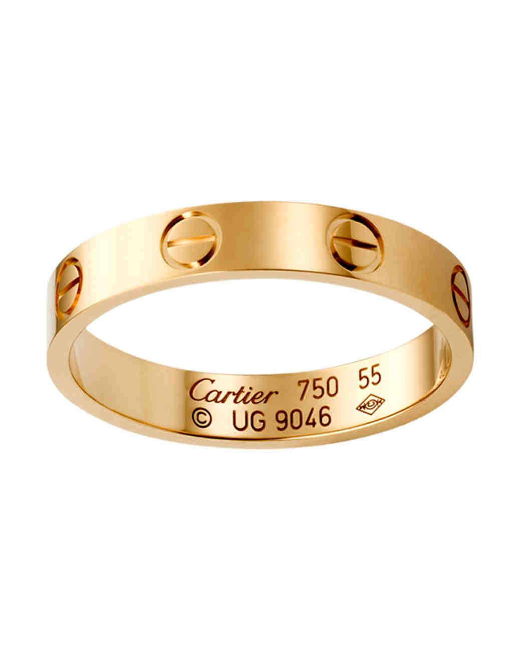 gold wedding bands women weve taken shine to gold womens wedding rings Cartier