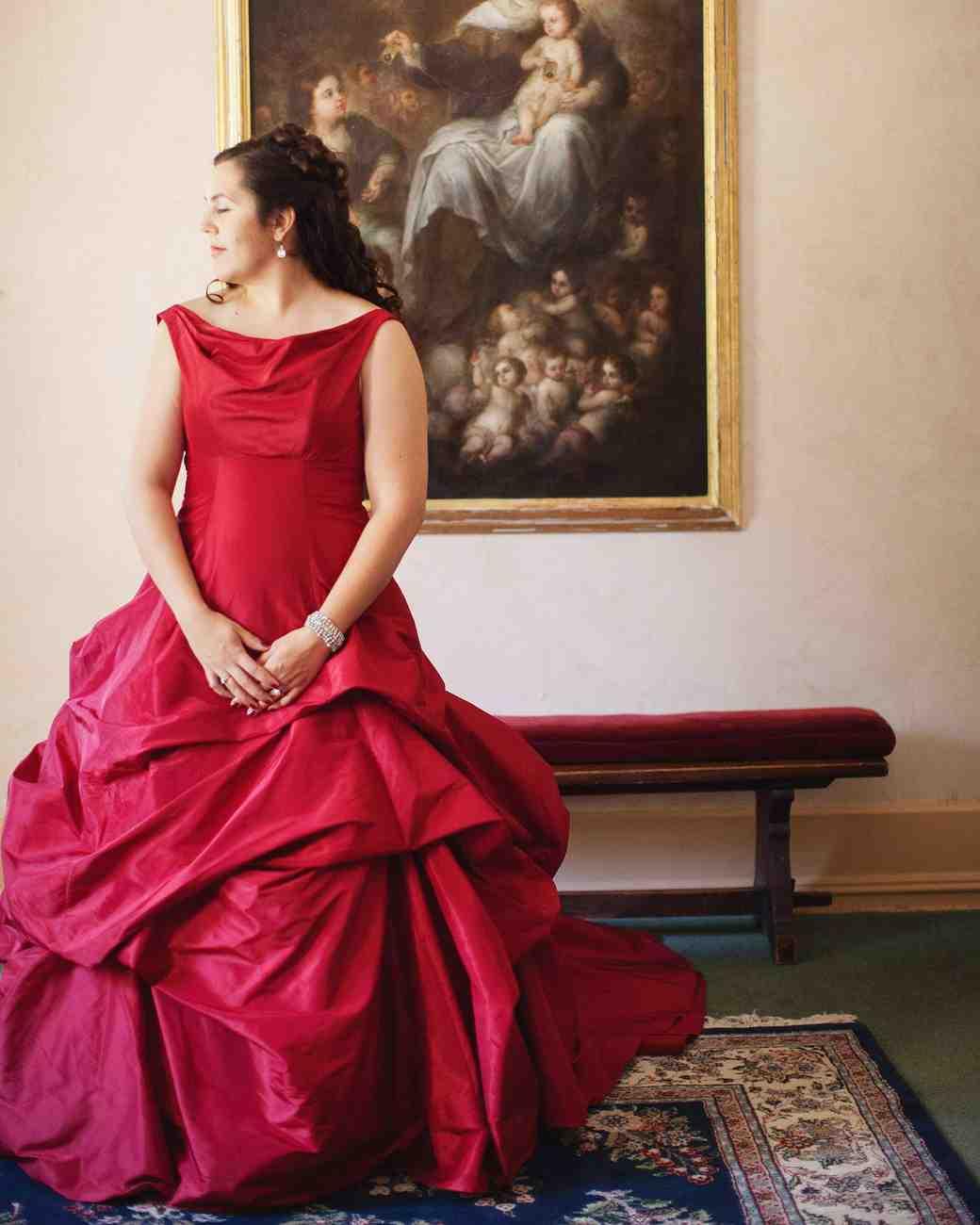 red wedding dresses red wedding dress Dress