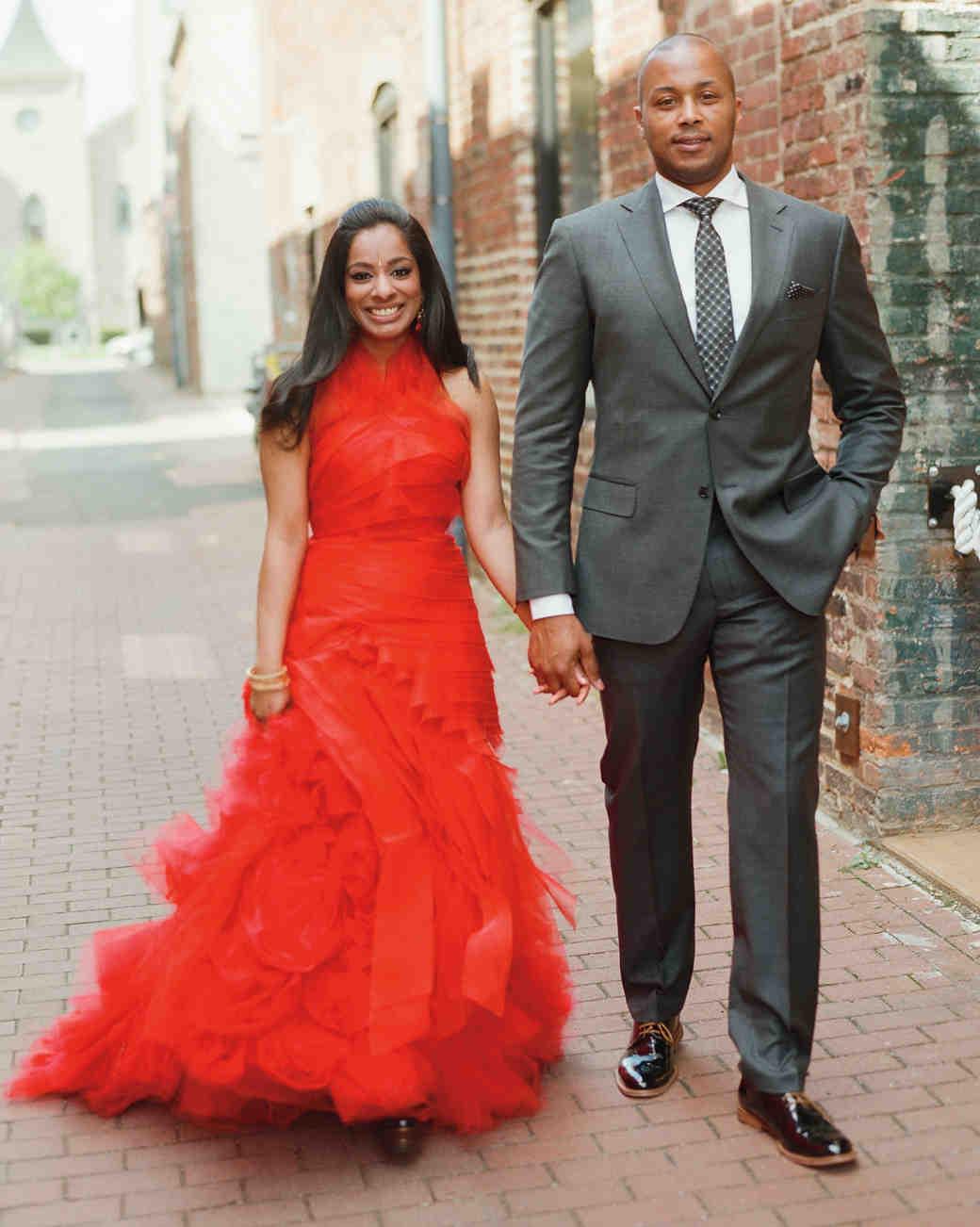red wedding dresses red wedding dress 1 of 7