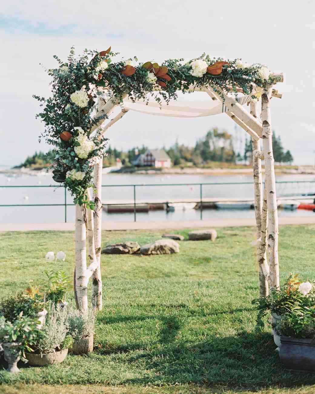 ceremony wedding arches wedding arbor 59 Wedding Arches That Will Instantly Upgrade Your Ceremony Martha Stewart Weddings