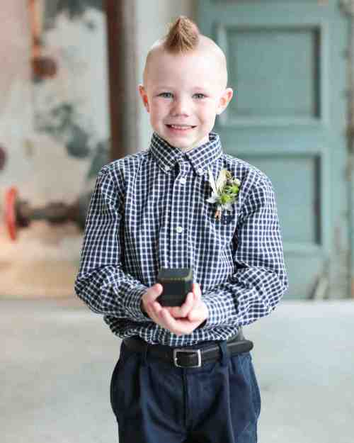 Medium Of Ring Bearer Outfits