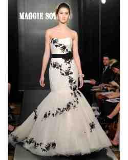Sparkling Wedding Dresses Ago Black Maggie Sottero Wedding Spring 2013 Bridal Fashion Week Black Wedding Dresses Uk