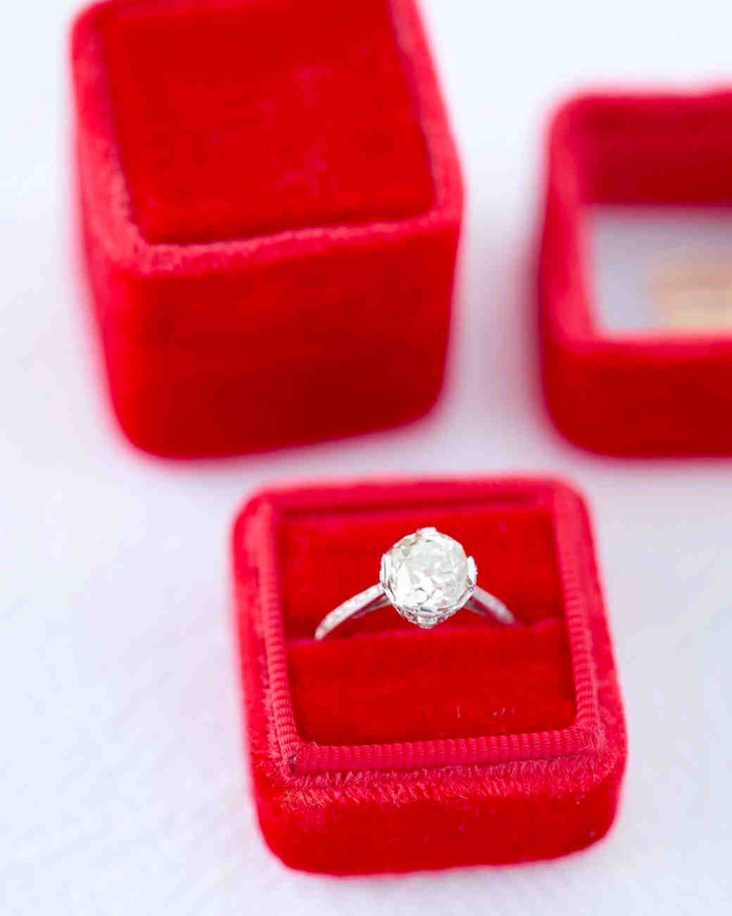ring boxes have and hold your wedding bands keepsake wedding rings Ring Boxes to Have and to Hold Your Wedding Bands Martha Stewart Weddings