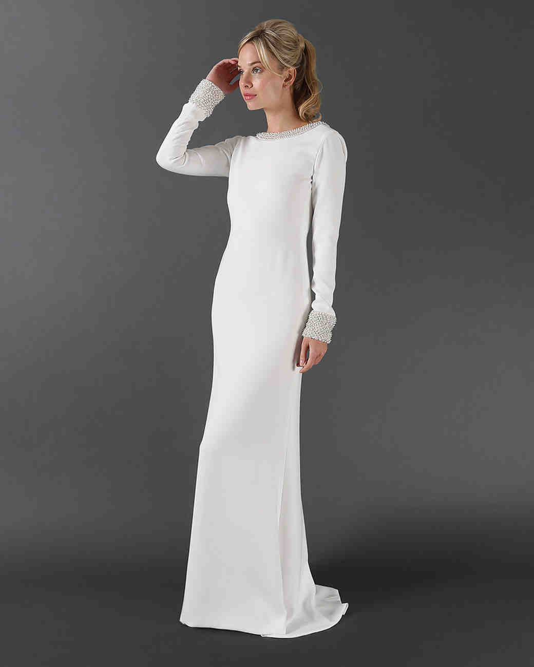long sleeved wedding dresses wedding dress long sleeve