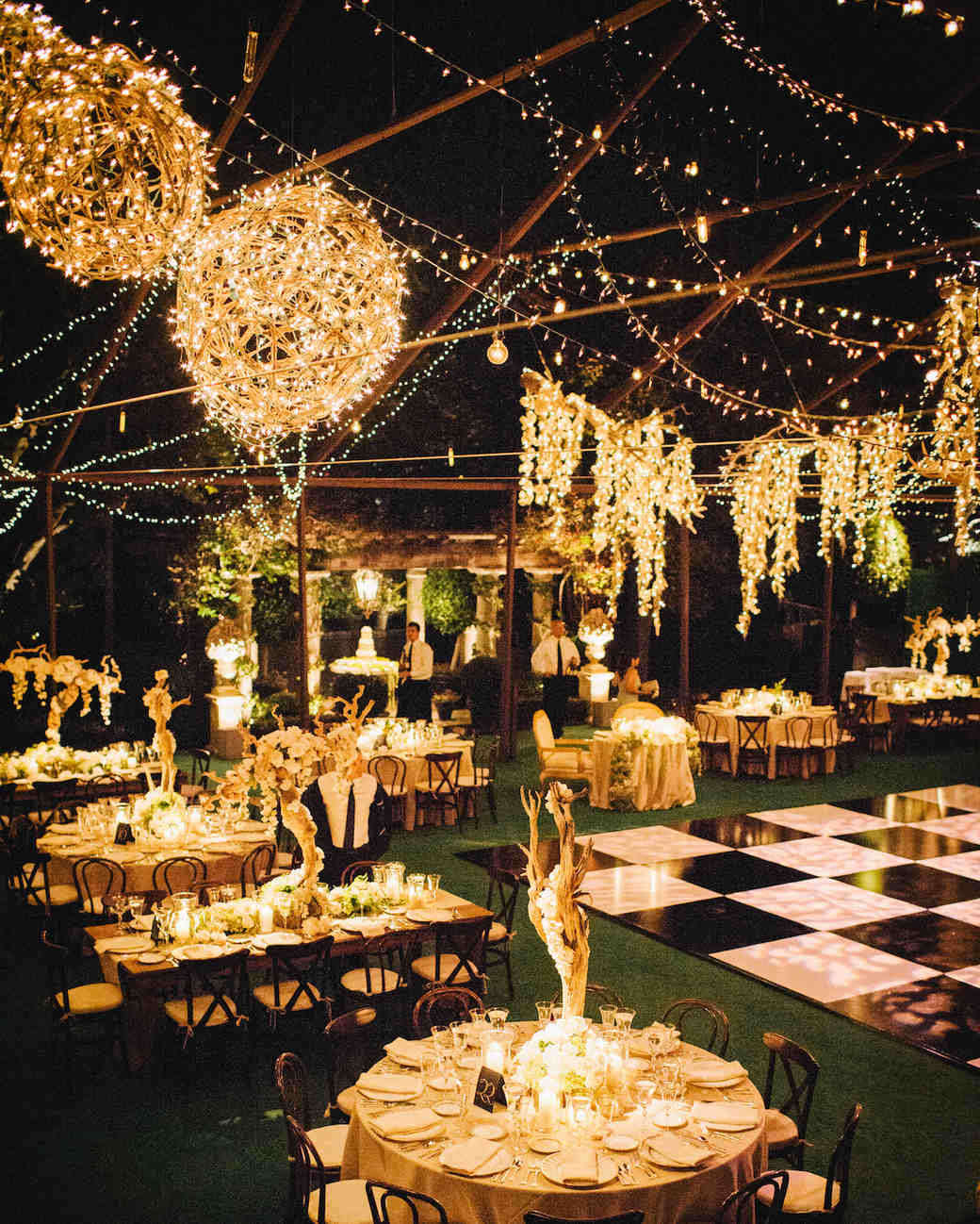 Wedding Home Decoration Outdoor Wedding Lighting Ideas From Real Celebrations