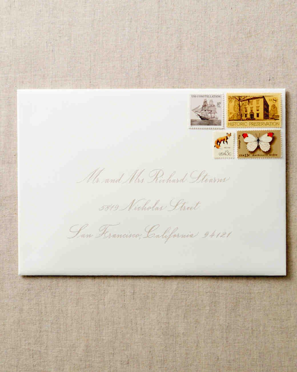 how to address wedding invitation envelopes wedding invitation envelopes To a Married Couple