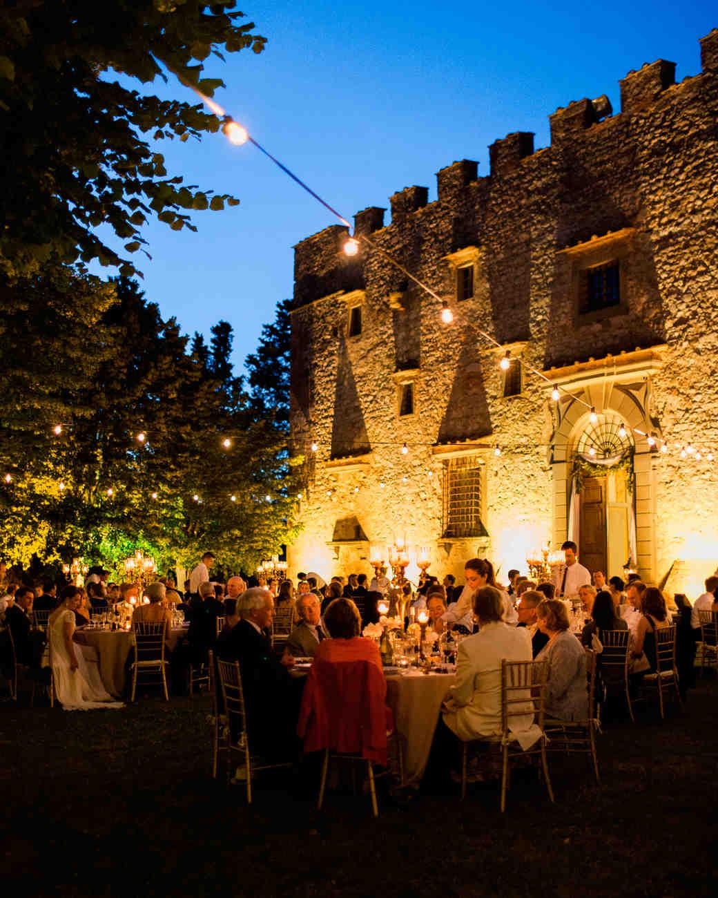 Outdoor wedding lighting - Outdoor Lighting For Wedding Reception