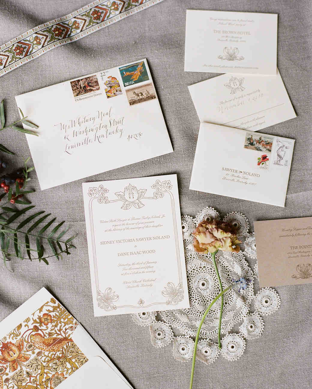 addressing and mailing your wedding invitations wedding invitations envelopes 10 Things You Should Know Before Mailing Your Wedding Invitations Martha Stewart Weddings