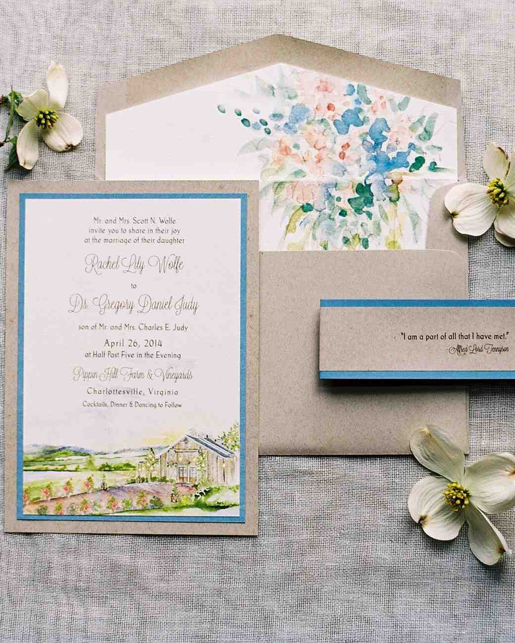 Peaceably And Green Watercolor Wedding Invitation Loveliest Watercolor Wedding Invitations Martha Stewart Weddings Watercolor Wedding Invitation Suite Watercolor Wedding Invitations Philippines wedding invitation Watercolor Wedding Invitations