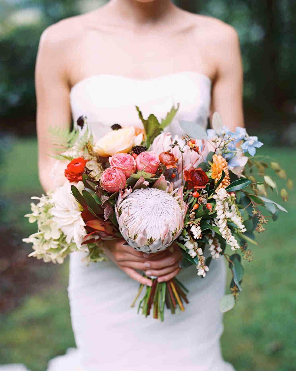 50 great wedding bouquets wedding bouquet Protea Wedding Bouquet