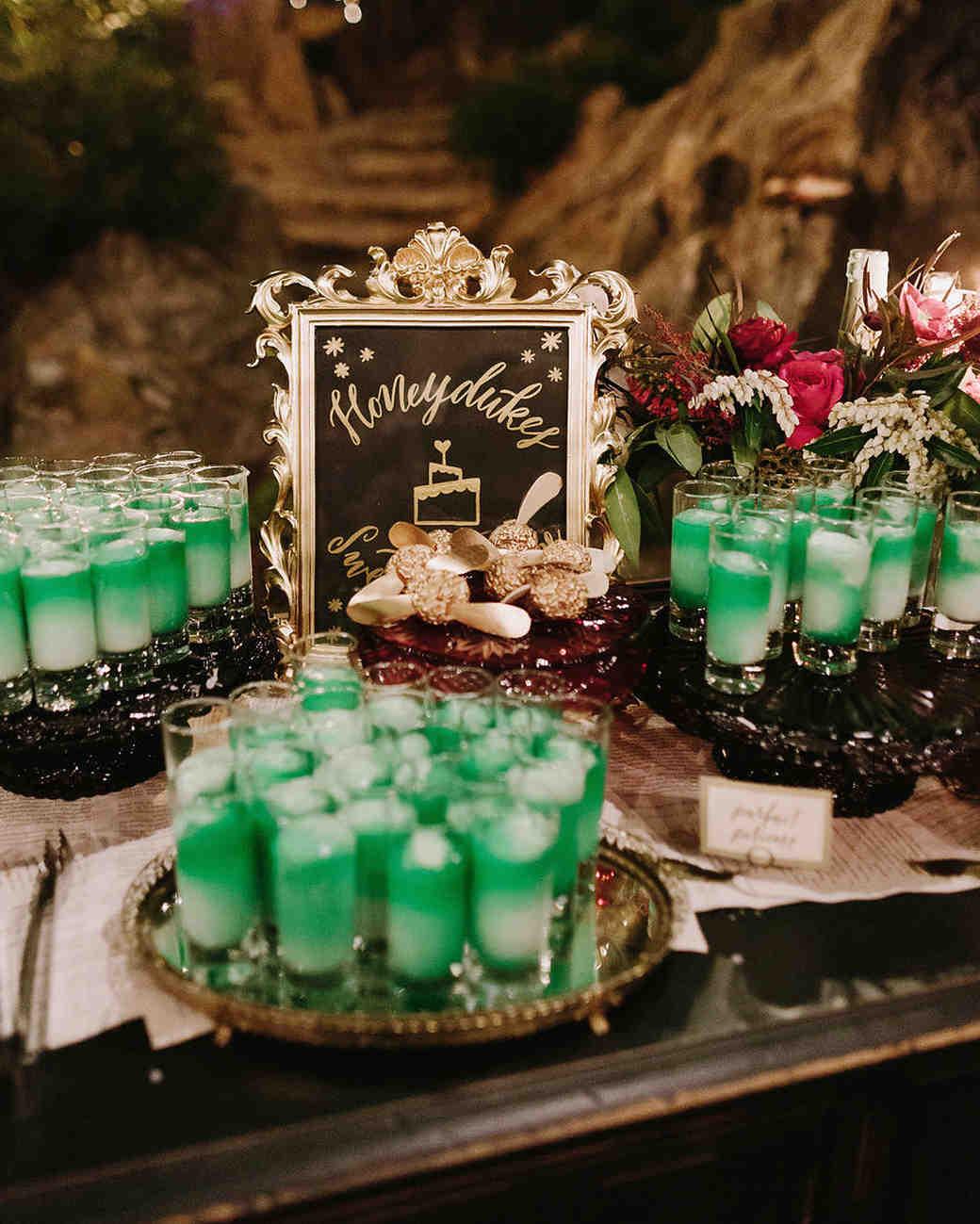 harry potter themed wedding nirav patel harry potter wedding bands A Moody Magical Harry Potter Themed Wedding Martha Stewart Weddings