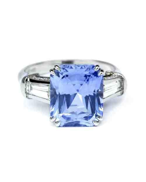 Medium Of Sapphire Engagement Rings