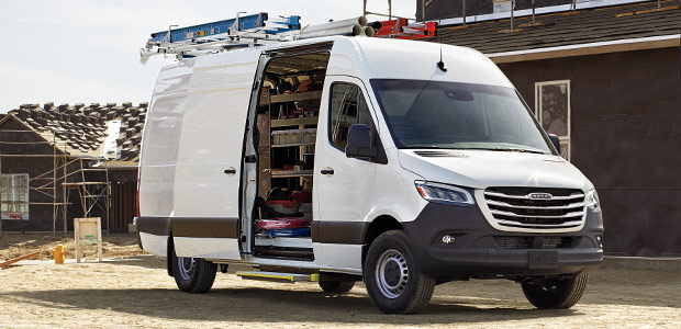 Cargo Van Features Freightliner Sprinter