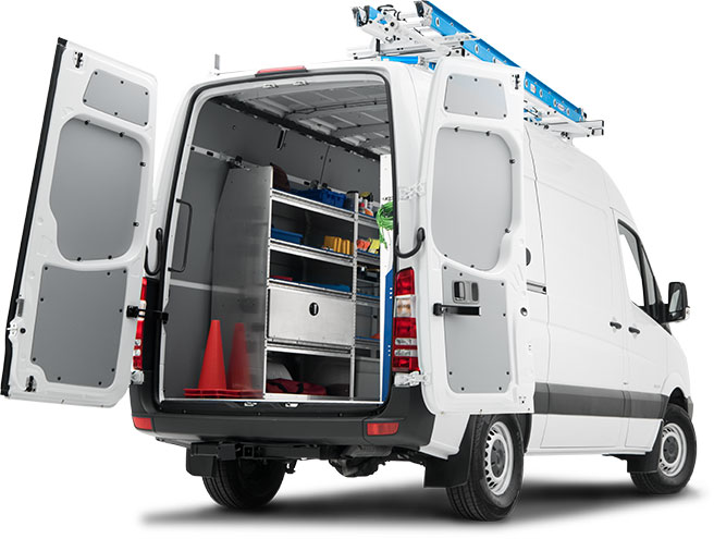 Discover Master Solutions Upfitting Options Mercedes-Benz Vans