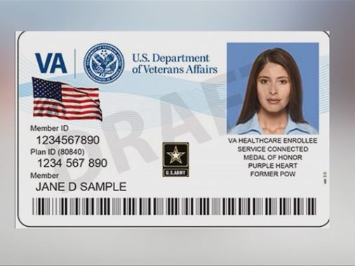New VA ID Cards Only Available For Some Veterans - sample id cards