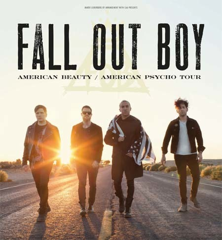 Fall Out Boy Believers Never Die Wallpaper Fall Out Boy American Beauty American Psycho Tour 2015
