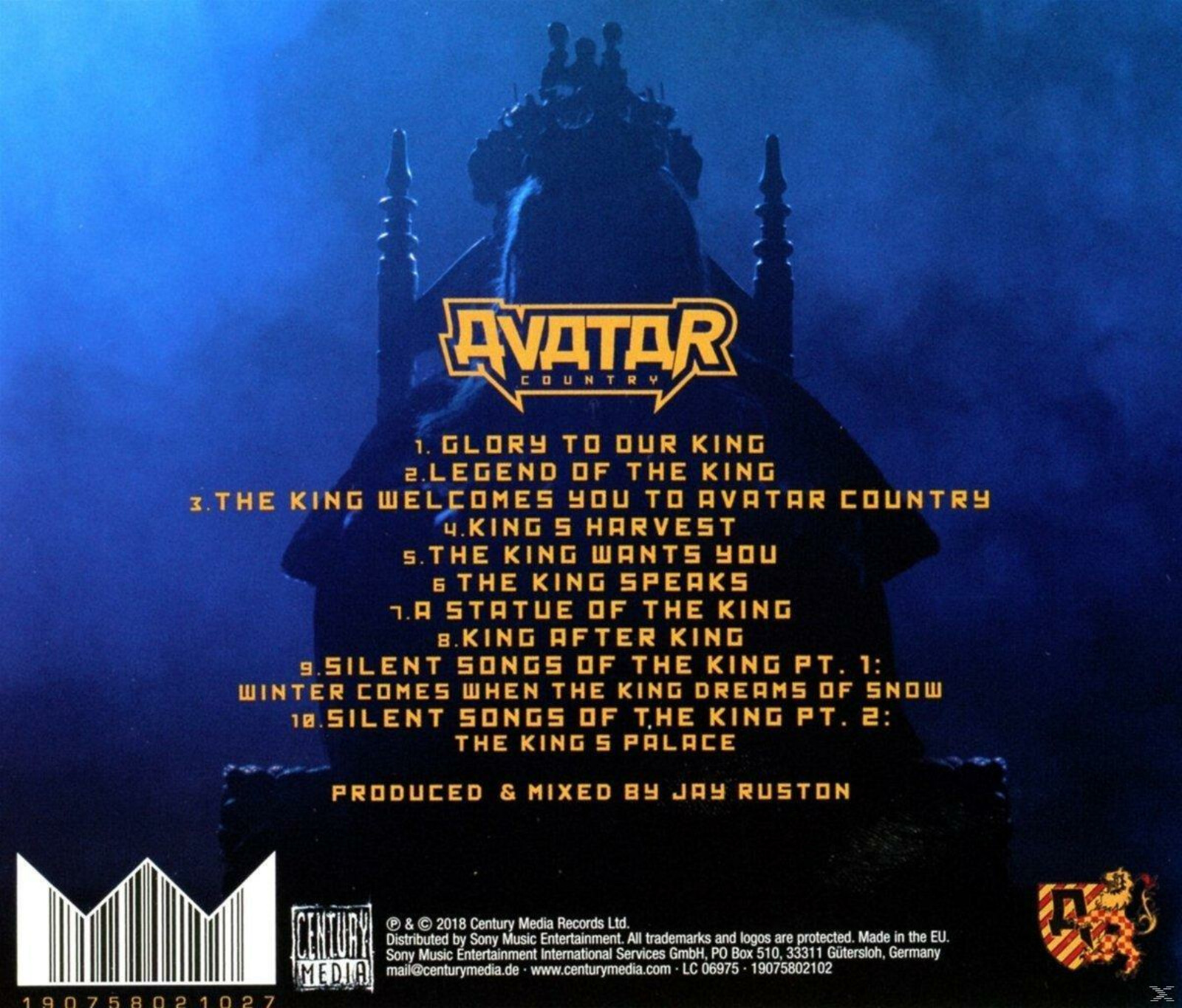 Avatar Avatar Country Cd Ebay