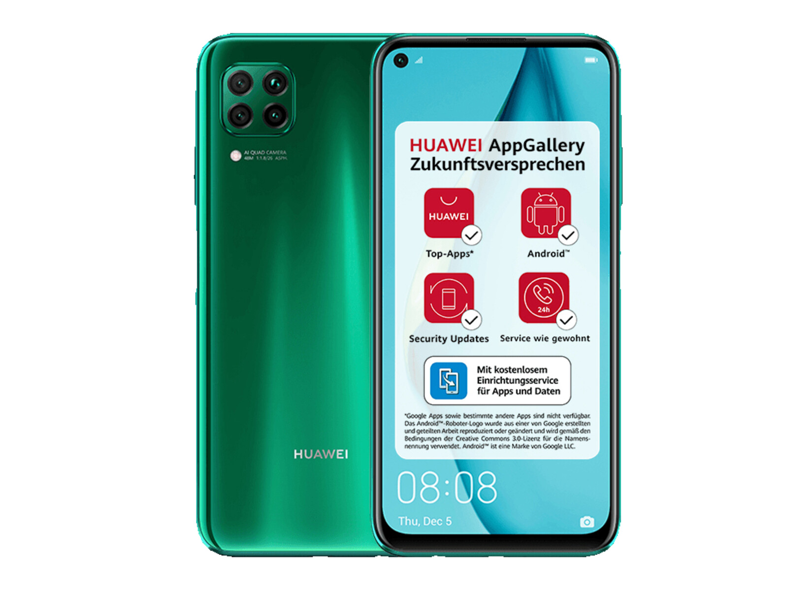 Huawei P40 Lite 128 Gb Crush Green Ebay
