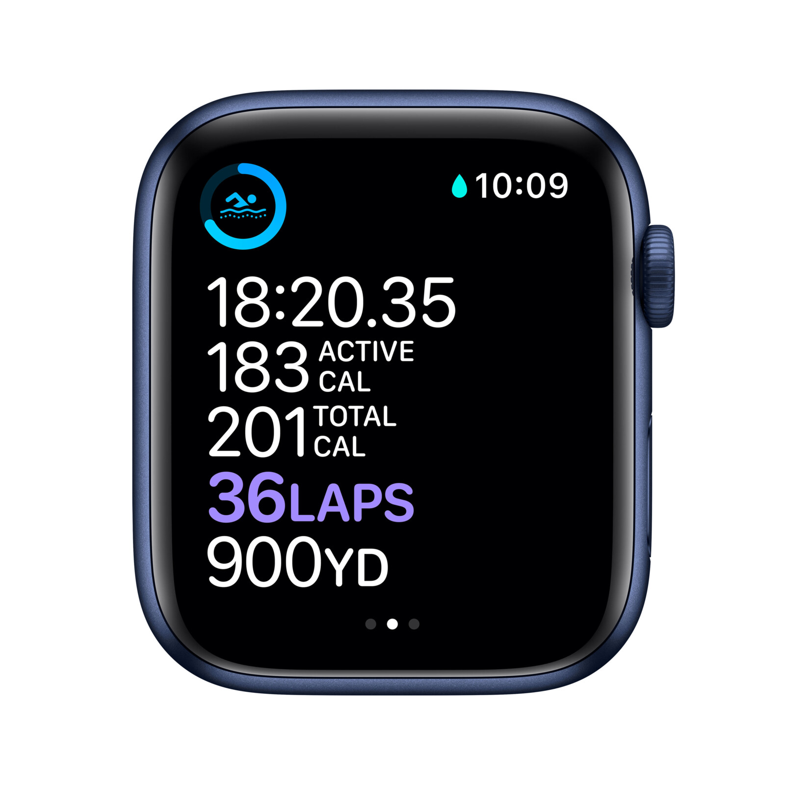 Apple Watch Series 6 Gps Cellular 44mm Smartwatch Fluorelastomer 140 21 Ebay