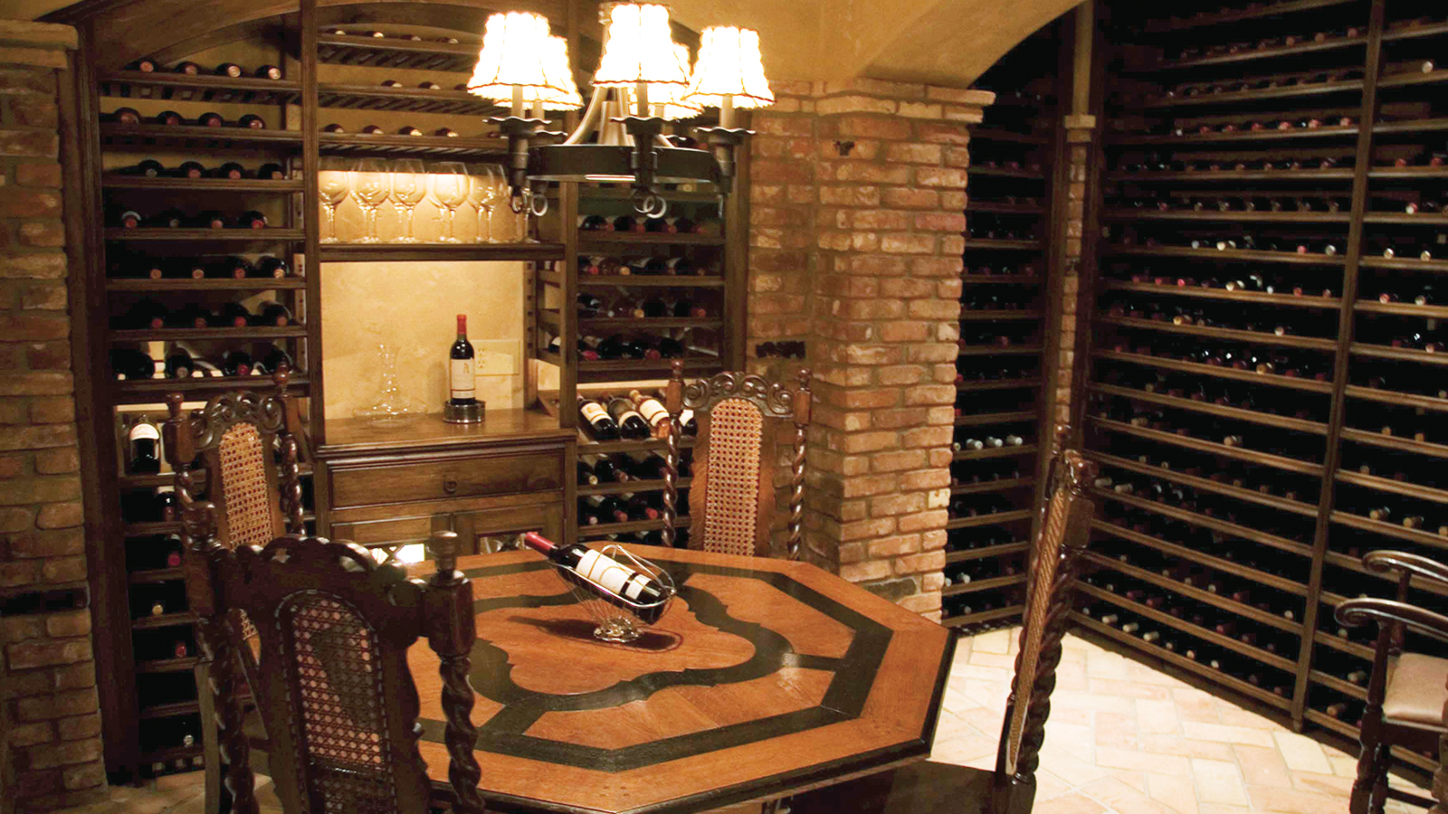 Weinregal Modern Expensive Wine Cellar Built In Basement | Private Cellars