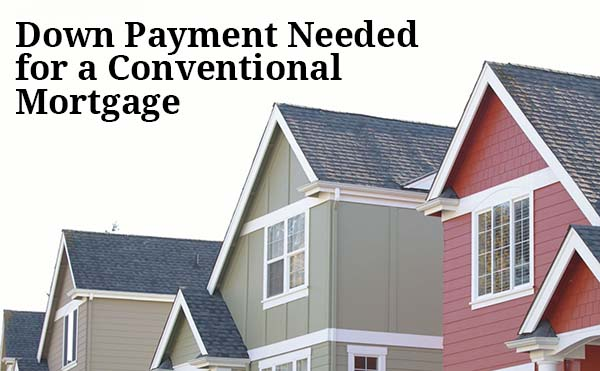 Conventional Mortgage Down Payment  How Much Do I Need?