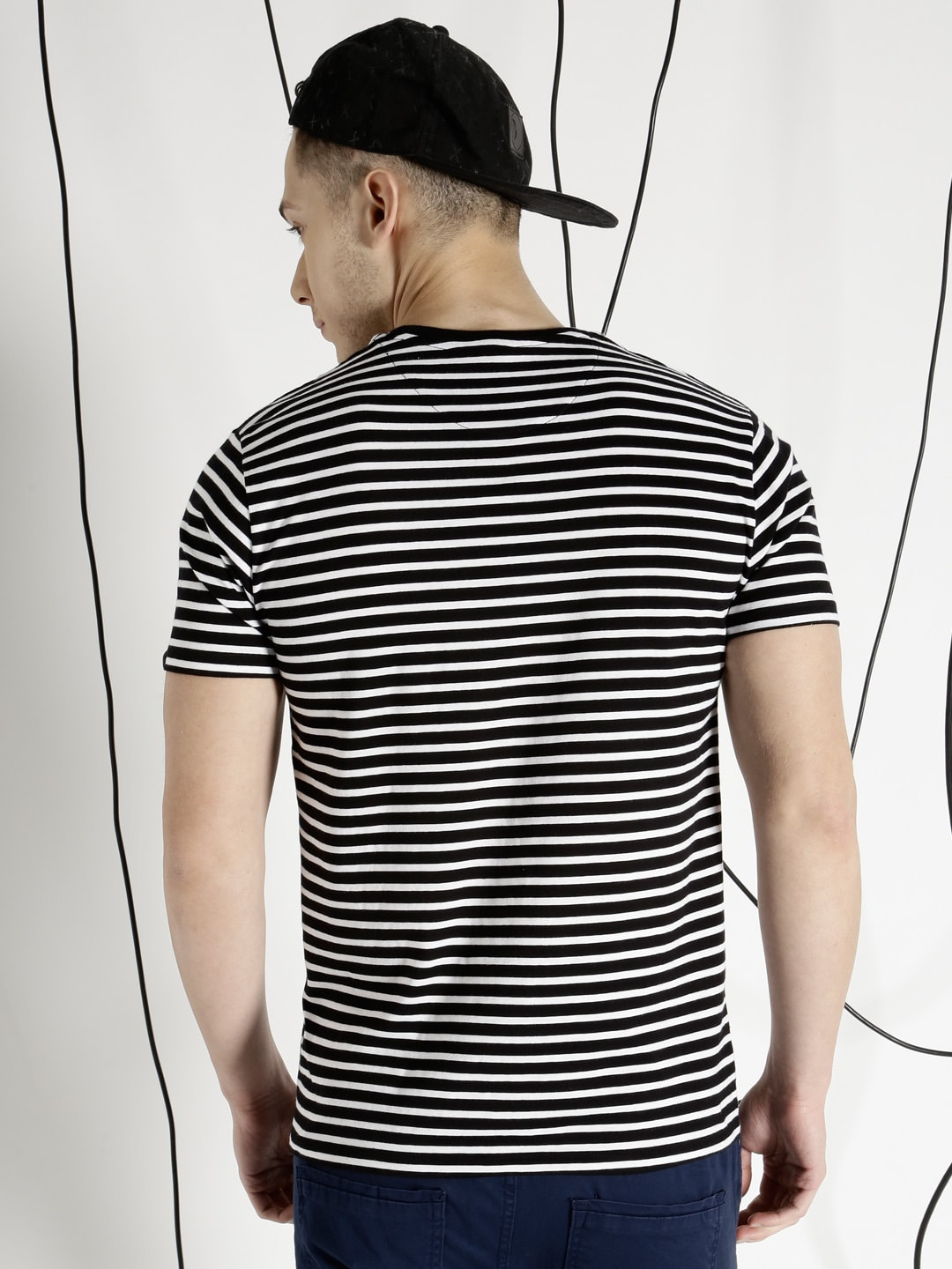 Black and white striped t shirt xxl -  Black And White Striped T Shirt Xxl 15 Download