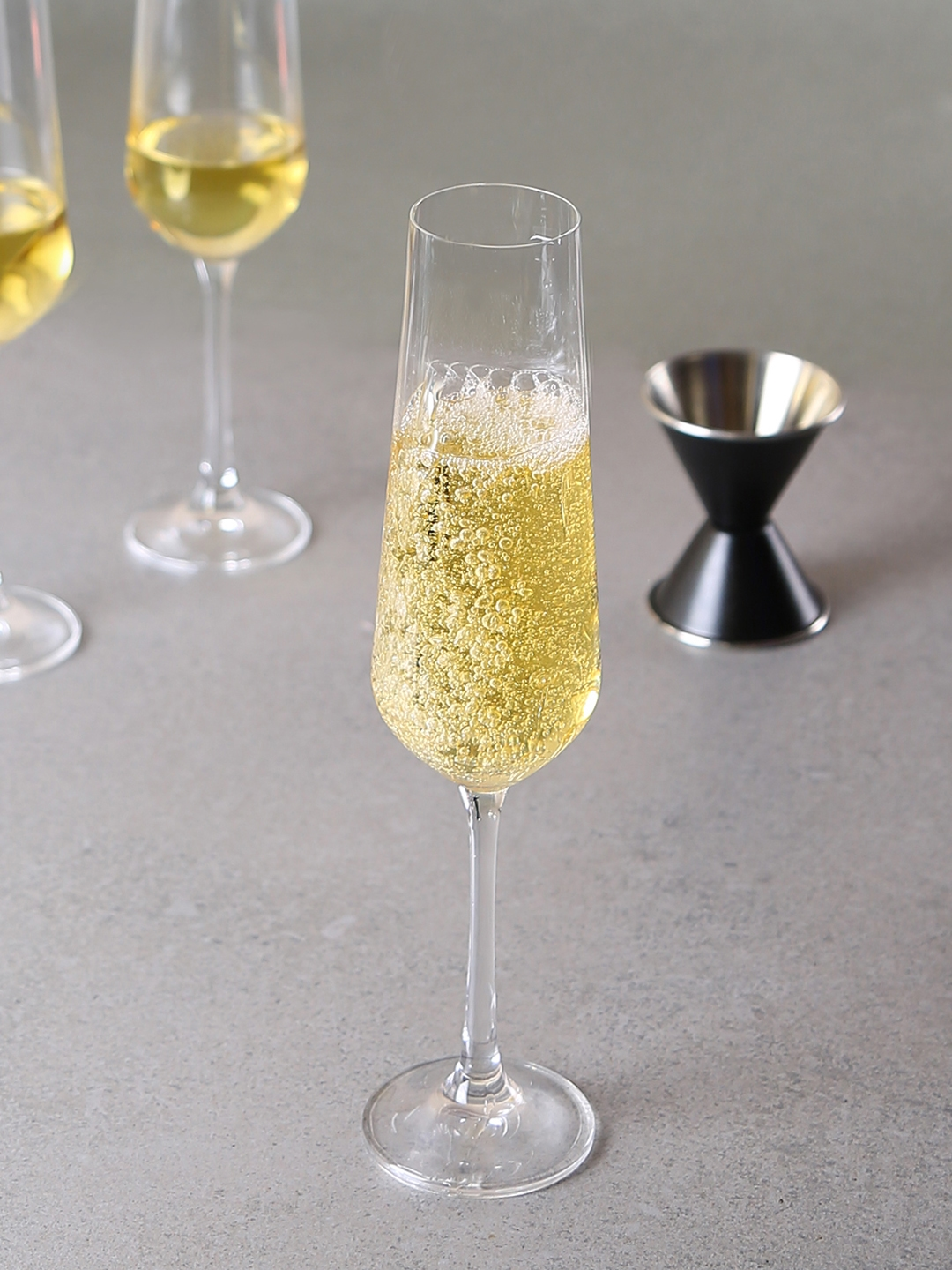 Flute A Champagne Original Buy Bohemia Crystal Set Of 6 Champagne Flute Glass 200 Ml Bar