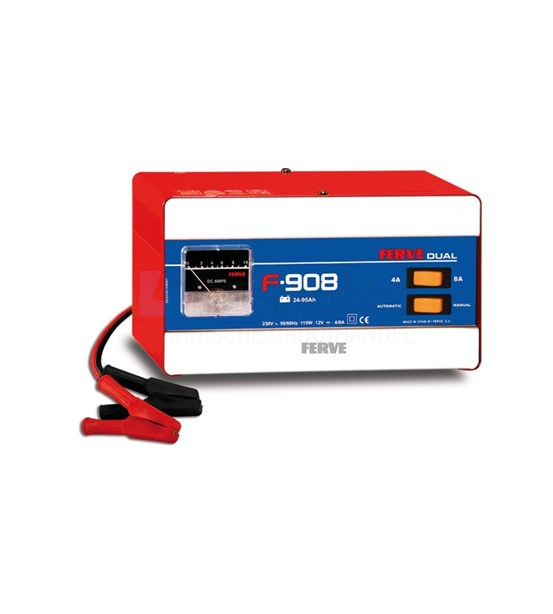 Auto Acculader Gamma Ferve F-908 Acculader