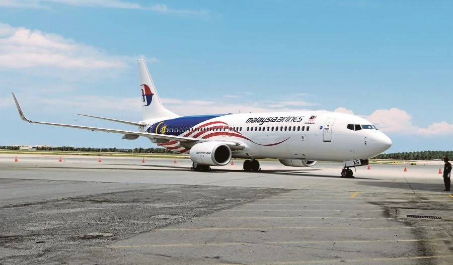 Malaysia Airlines resumes flights to Brisbane New Straits Times