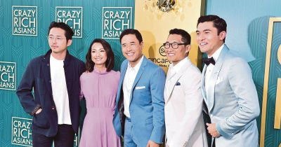 Crazy Rich Asians, starring Malaysians Yeoh, Golding, tops ...