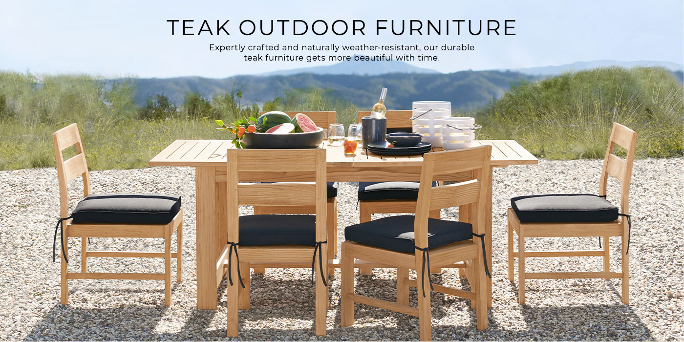 Clearance Solid Teak Pottery Barn - Outdoor Furniture Clearance Houston