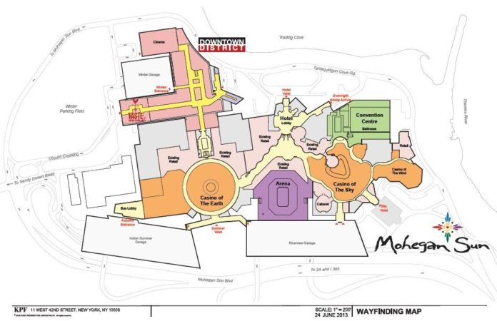 Mohegan Sun to expand retail operations by 200,000 square feet