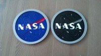 3D Printed NASA Logo Drink Coaster by Brian Westgate ...