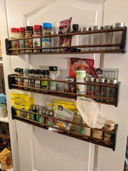 Small Of Wall Mount Spice Rack