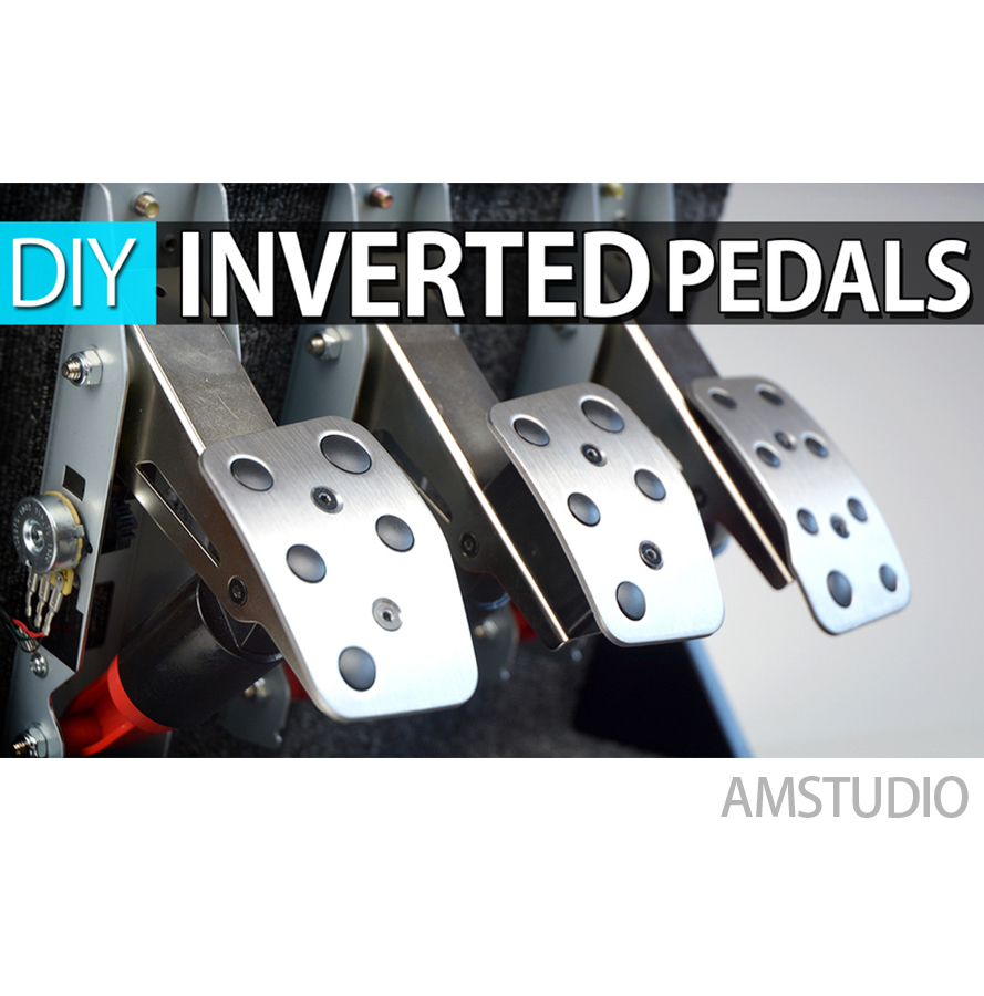 Cable Guide Logitech Inverted Pedals Build Guide W Cable Holders Pinshape
