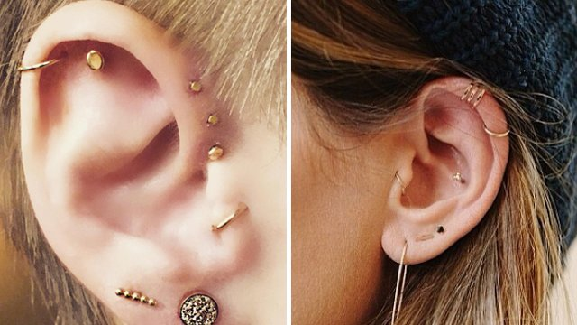 13 Unique Ear Piercing Combos That You\u0027ll DEFINITELY Want To Get