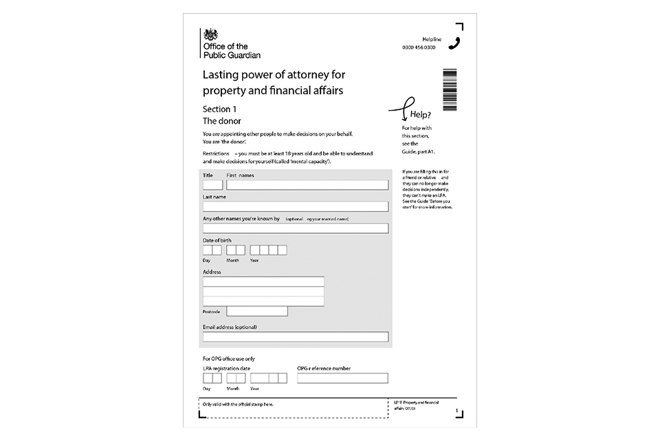 LP12 Make and register your lasting power of attorney a guide (web