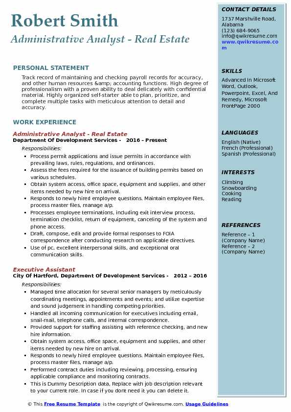 pmo analyst resume node2004-resume-templatepaasprovider - Compensation Analyst Resume