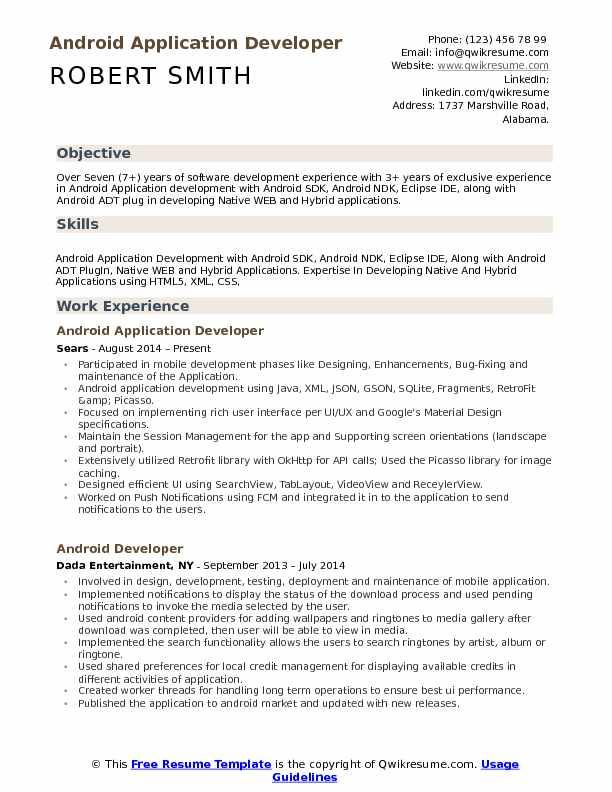 software developer resume template google approved